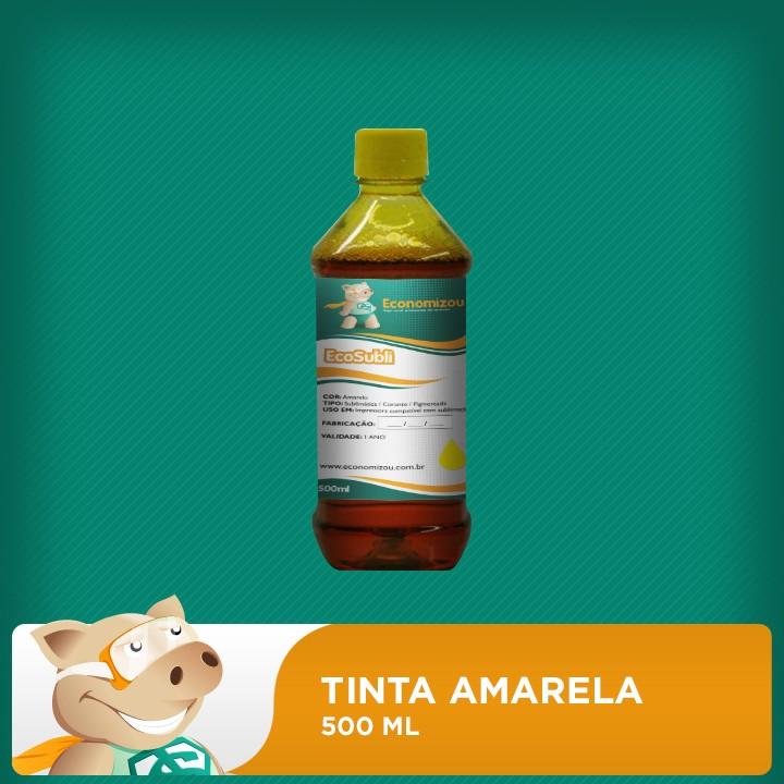 500ml Tinta Amarela para Epson Sublimática  - ECONOMIZOU