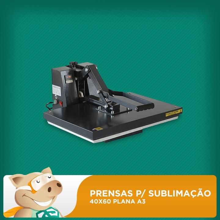 Prensa Térmica 40x60 Para Sublimação/Transfer Plana A3  - ECONOMIZOU