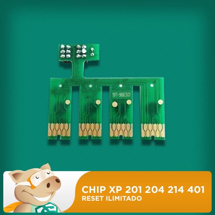 Chip Xp 201 204 214 401 Reset Ilimitado  - ECONOMIZOU