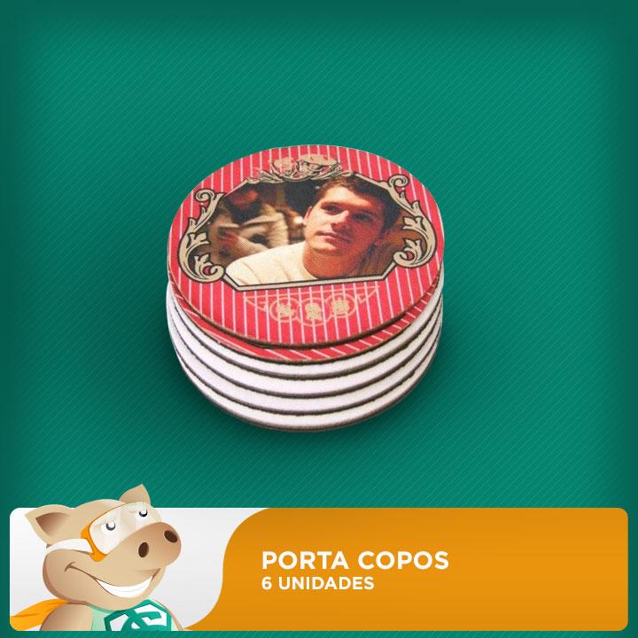 Porta Copos para Sublimação Pacote c/ 6  - ECONOMIZOU