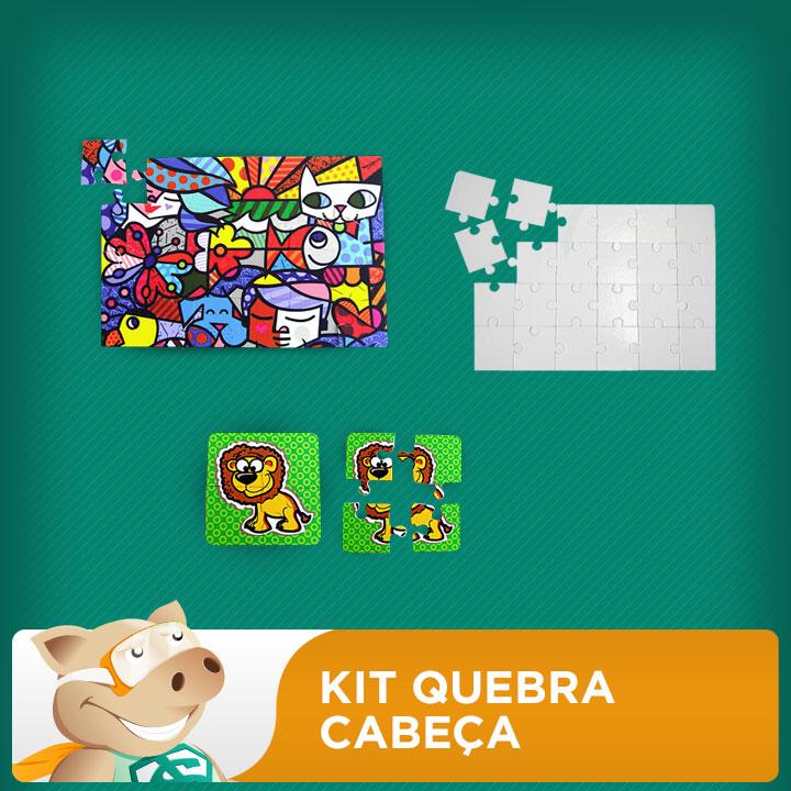Kit Quebra-Cabeça  - ECONOMIZOU