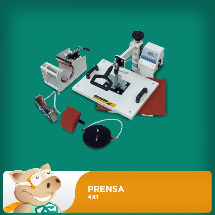 Prensa 4x1  - ECONOMIZOU
