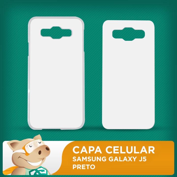 Capa Plástica 2D para Sublimação - Branca - Samsung Galaxy J5  - ECONOMIZOU