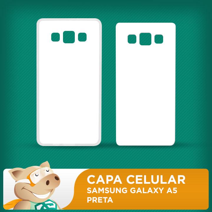Capa Plástica 2D para Sublimação - Branca - Galaxy A5  - ECONOMIZOU