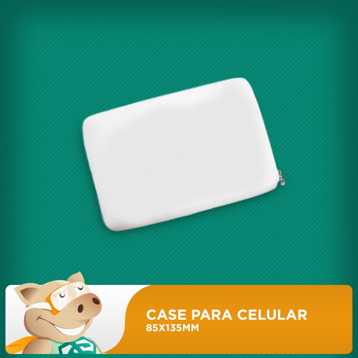 Case para Celular 85x135mm (Unidade)  - ECONOMIZOU