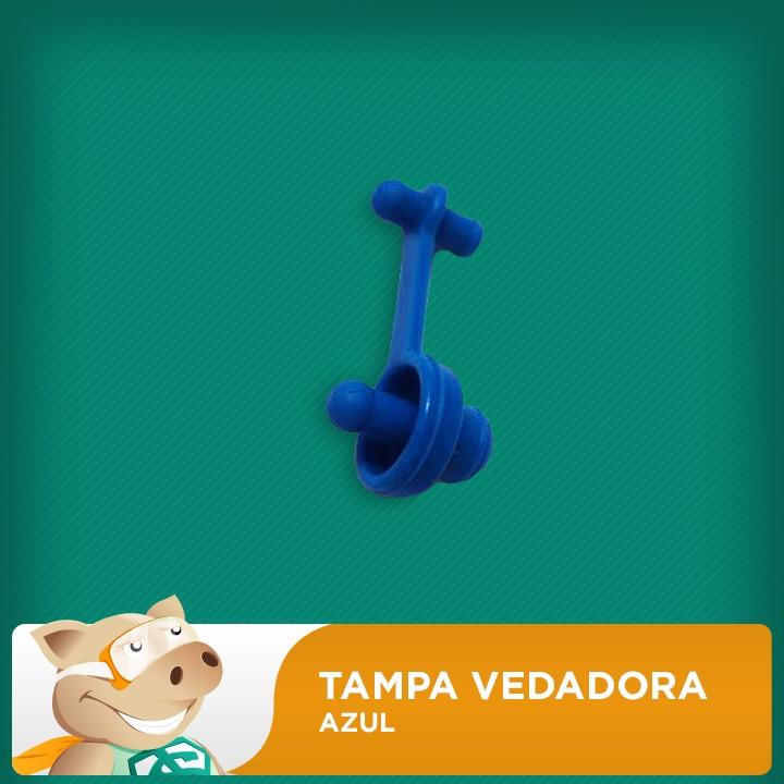 Tampa Vedadora de Reservatório (Azul)  - ECONOMIZOU