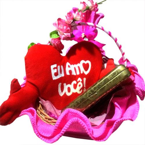Cesta Meu Amor Erótico  - Mimus Presentes
