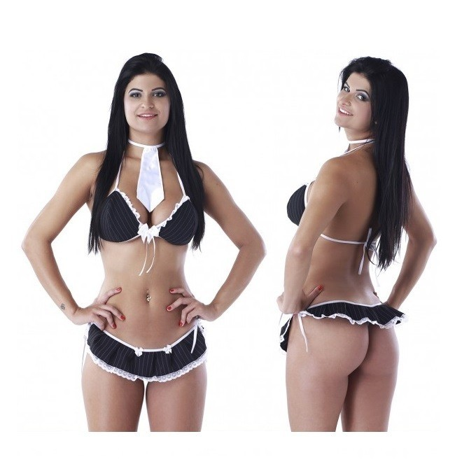 Mini Conjunto Executiva Sexy Fantasy  - Mimus Presentes