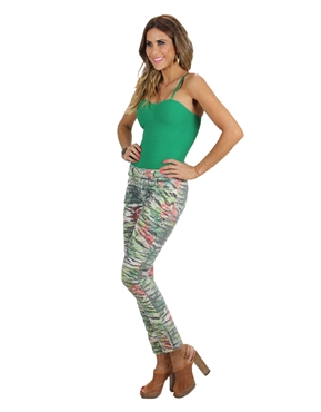 Calça print Planet Girls