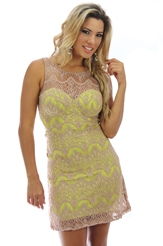 Vestido Renda Planet Girls