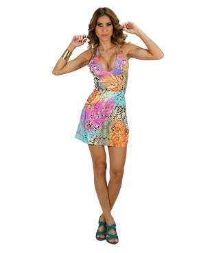 Vestido Estampado Planet  Girls - Mimus Presentes