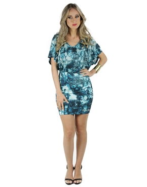 Vestido Estampado Planet Girls