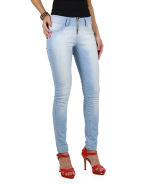 Calça Jeans Básica Planet Girls