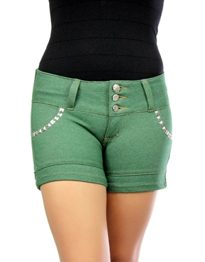 Shorts Spikes  Verde Planet Girls