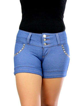 Shorts Spikes Azul Planet Girls