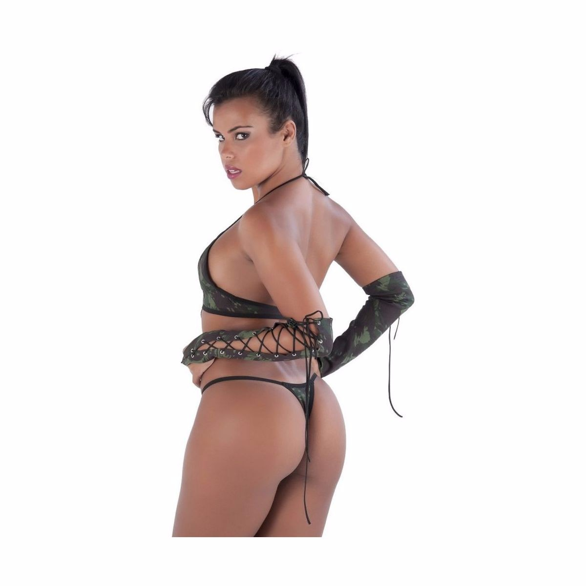 Body Militar Amareto  - Mimus Sex Shop