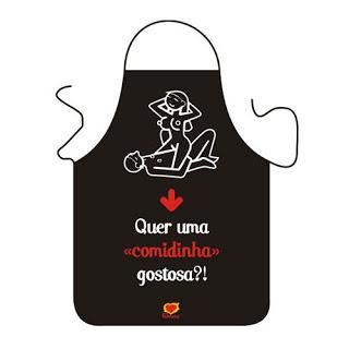 Avental Quer uma comidinha gostosa? Sexy Fantasy -Mimus + Dado Kama Sutra   - Mimus