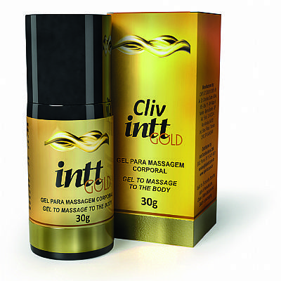 Cliv Intt Gold - Extra Forte 30ml - Gel Anal	 Cliv Intt Gold - Extra Forte 30ml - Gel Anal