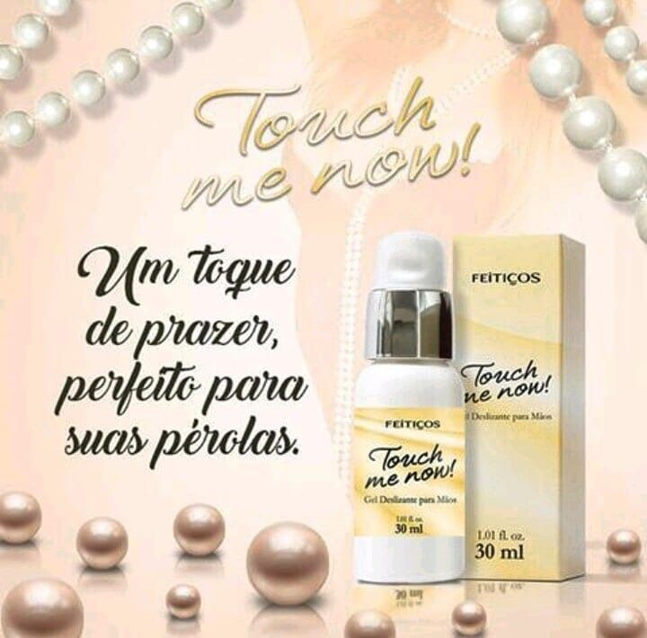 Gel deslizante para as mãos Touch me Now