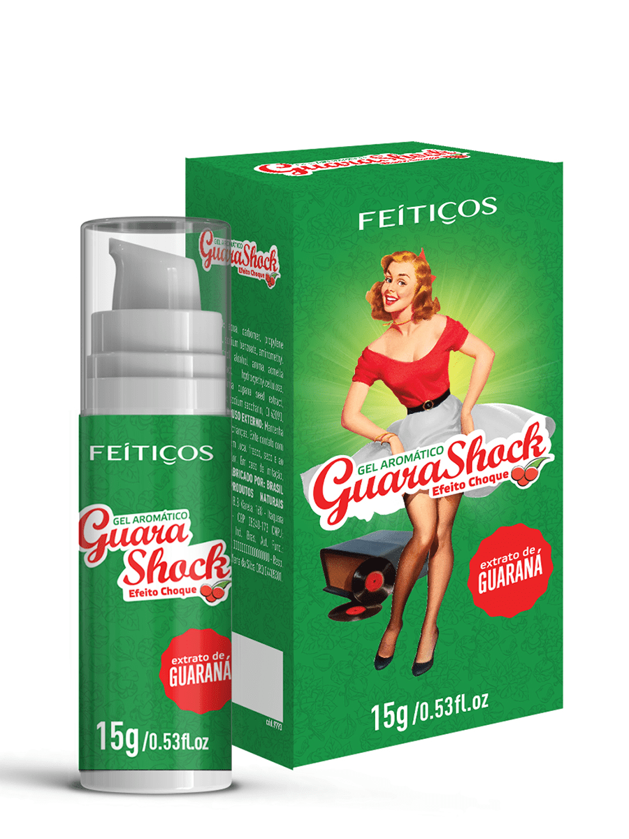 GEL ELETRIZANTE SABOR GUARANÁ
