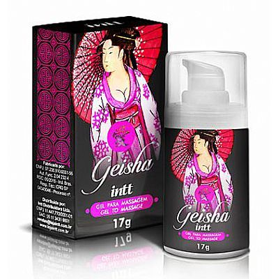 Gel Hot e Ice Geisha - Gel Excitante Unissex 17g	 Gel Hot e Ice Geisha - Gel Excitante Unissex 17g