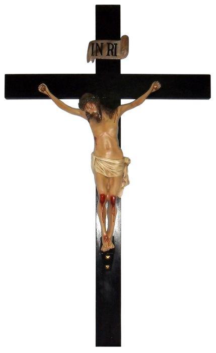 Crucifixo em Resina 140 cm
