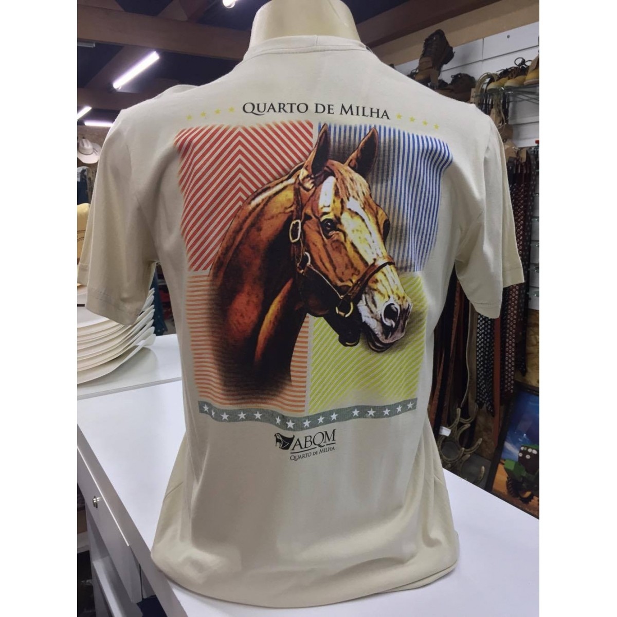 camiseta ABQM tamanho M 001 - Selaria Zamboim 9e9a6499d4b