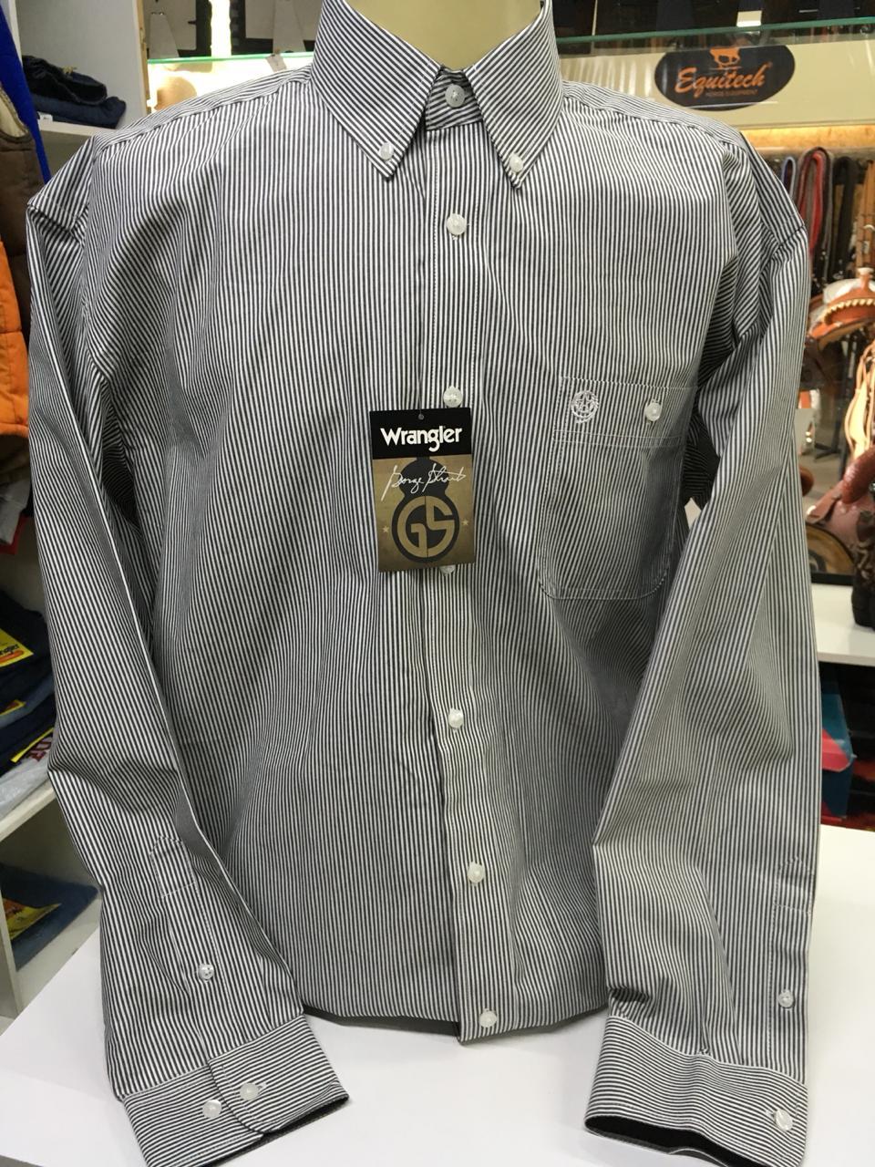 diseño profesional como serch precios baratass Camisa Wrangler Manga longa George Strait 005 ( GG )