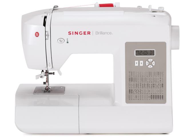 M�quina de Costura Dom�stica, 80 Pontos, Singer - Brilliance 6180