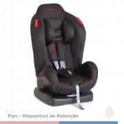 CADEIRA P/AUTO GALZERANO FLYN PRETO