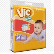 FRALDA INFANTIL VIC BABY XXG 3 PCT. C/56 CXF