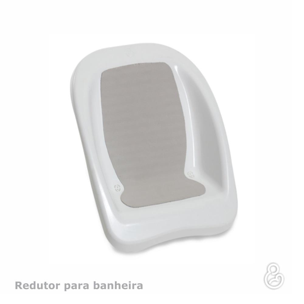 ASSENTO P/BANHEIRA RIGIDA GALZERANO BRANCA 9012  - Ruth Fraldas