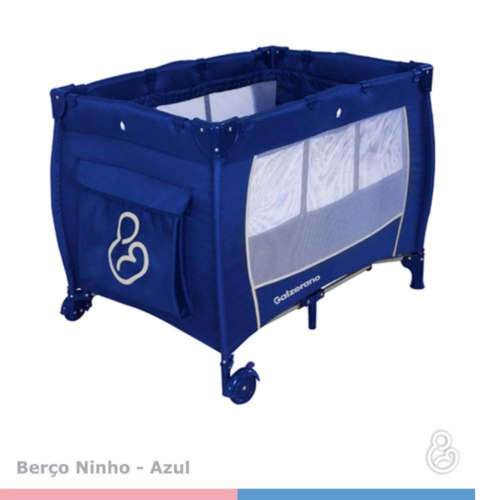 Berço Galzerano Ninho II 2081 Azul