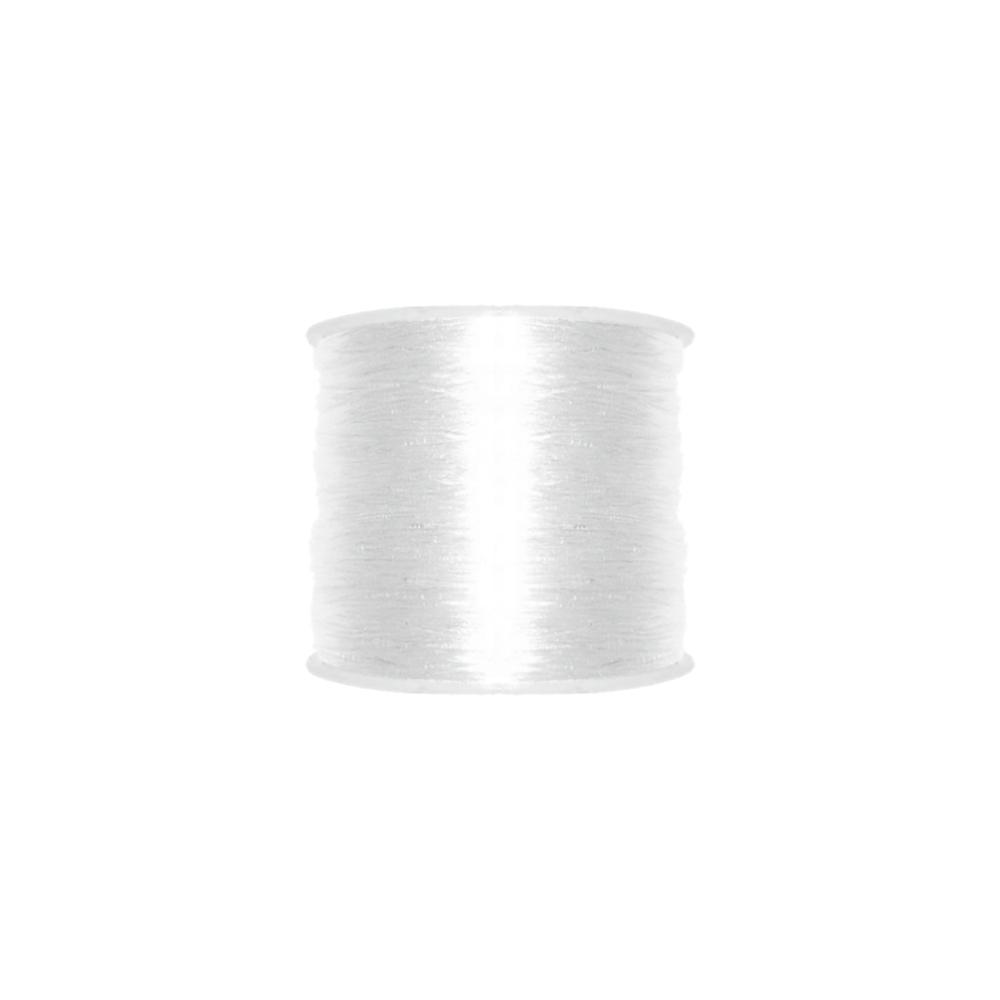 Fio de Silicone - Transparente - 0.5mm - 100m