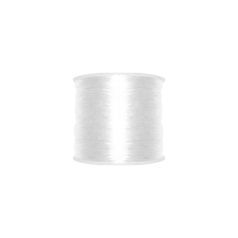 Fio de Silicone - Transparente - 1mm - 100m