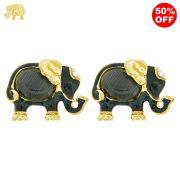 Piercings Elefante para Chinelos com Strass - 21mm - 1par