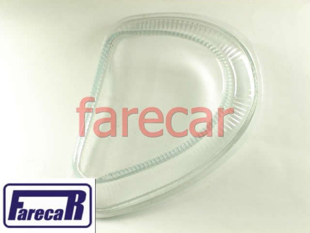 LENTE DE VIDRO DO FAROL AUXILIAR DE MILHA NEBLINA DO PARACHOQUE GM CORSA 2000 A 2002 HATCH SEDAN E CLASSIC 2001 2002 2003 2004 2005 2006 2007 2008 2009 2010 00 0102 03 04 05 06 07 08 09 10  - Farecar Comercio