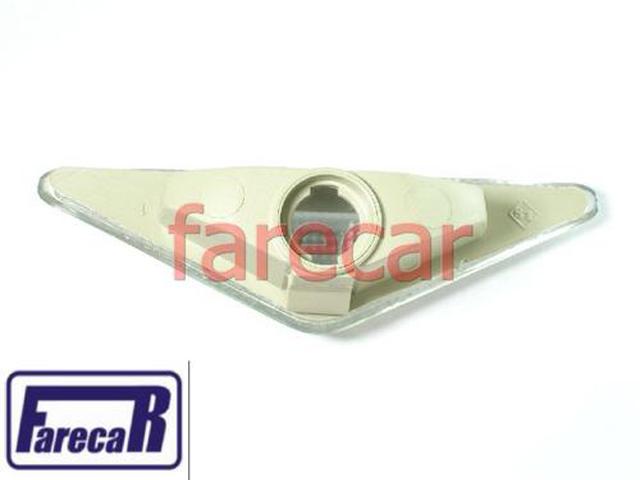 Par Lanterna Pisca Seta Paralama Focus Cristal Branca  - Farecar Comercio