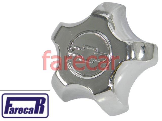 CALOTA CUBO MIOLO RODA S10 BLAZER 2001... CROMADA 3258  - Farecar Comercio