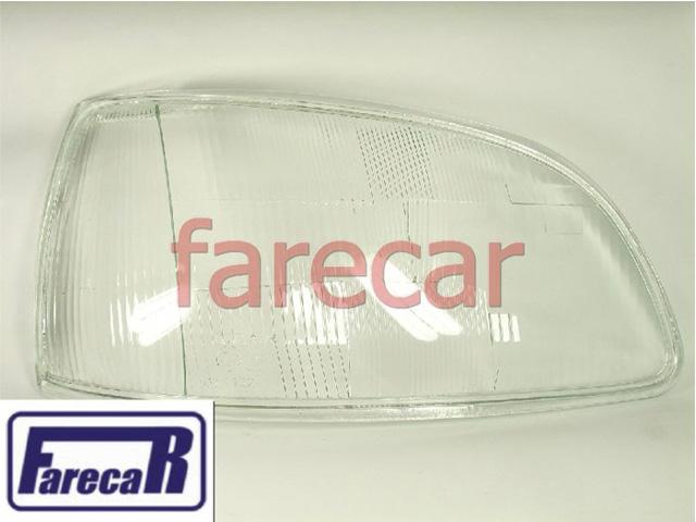 LENTE VIDRO FAROL RENAULT CLIO 1996 A 1999 NOVA  - Farecar Comercio