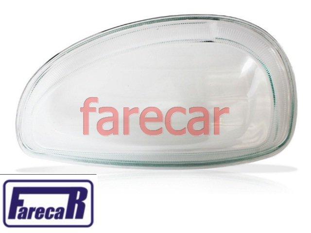 LENTE DE VIDRO DO FAROL LISA CORSA 2001 EM DIANTE E CLASSIC  - Farecar Comercio