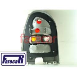LANTERNA TRASEIRA GOL 2000 A 2004 G3 TODA CRISTAL  - Farecar Comercio