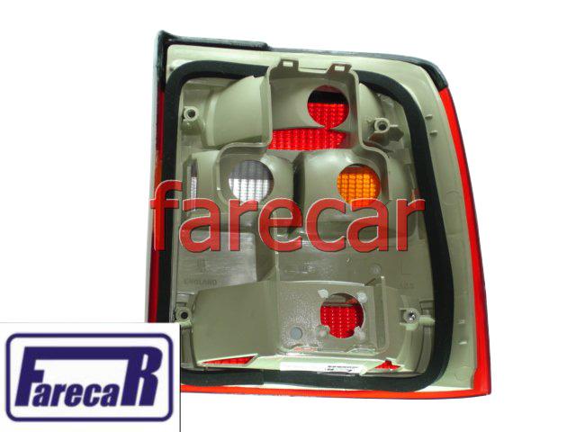 lanterna traseira tricolor marca Depo GM Vectra 1994 1995 1996  - Farecar Comercio
