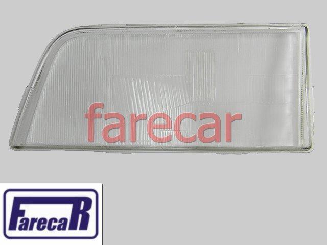 Lente Vidro Farol Opala E Caravan 1988 A 1993 Nova  - Farecar Comercio