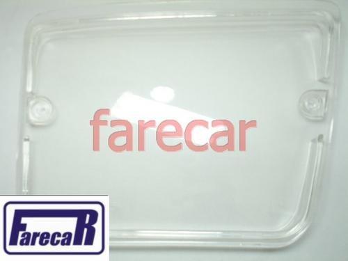 Lente Acrilica lado direito do Farol Milha Parachoque original Cibie Fiat Uno 1.5r 1.6r Sx Premio Elba Fiorino cs csl cs-l  - Farecar Comercio