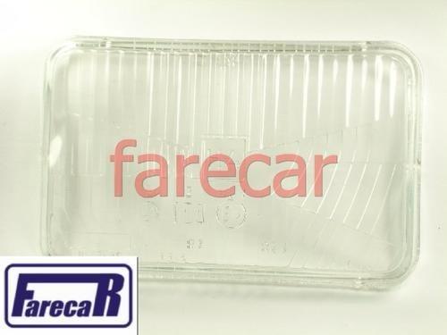 Lente Vidro Farol Duplo Passat H4 F1000 H4 Canto Novo  - Farecar Comercio