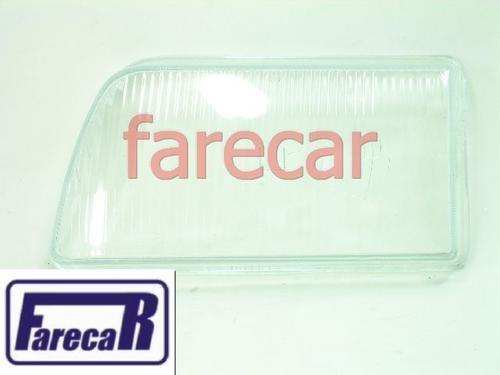 Lente Vidro Farol Del Rey Corcel 1985 A 1992 Novo  - Farecar Comercio