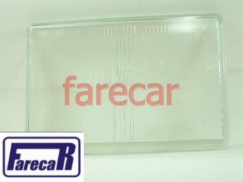 Lente Vidro Farol Opala 1980 A 1987 Novo  - Farecar Comercio