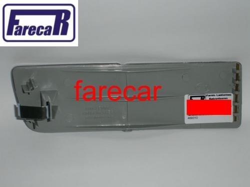 Defletor Refletor Aplique Parachoque Golf Até 98 Cristal  - Farecar Comercio