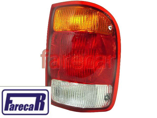 Lanterna Traseira Ford Ranger 1998 A 2003 Serve 1993 A 1997  - Farecar Comercio